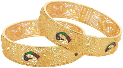 Zeneme Copper Bangle Set(Pack of 2) at flipkart