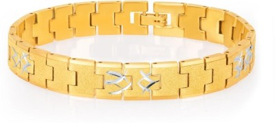 Sukkhi Alloy Yellow Gold, Rhodium Bracelet at flipkart