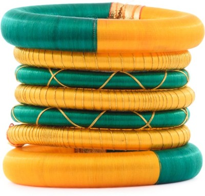 Kuhuk Plastic Bangle Set(Pack of 7) at flipkart