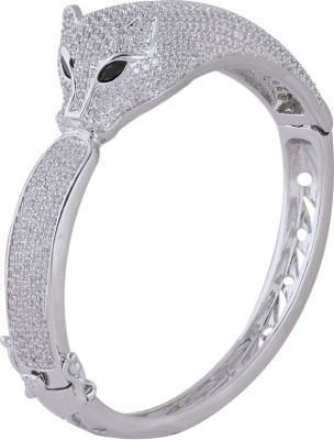Shaze Brass Cubic Zirconia Bangle at flipkart