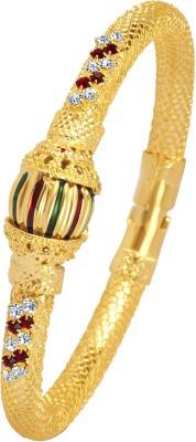VK Jewels Alloy Yellow Gold Kada at flipkart