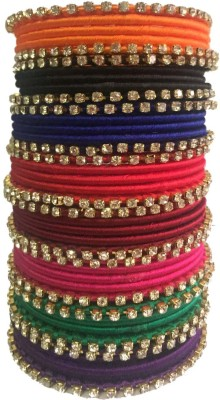 Kuhuk Plastic Bangle Set(Pack of 40) at flipkart