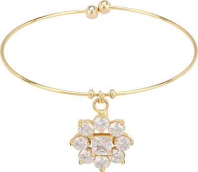Ananya Traders Copper 18K Yellow Gold Ring Bracelet at flipkart
