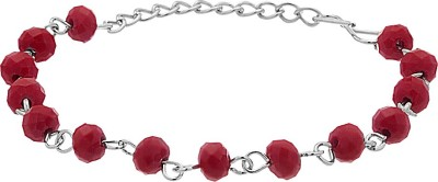 Voylla Alloy Crystal Silver Bracelet  available at flipkart for Rs.139