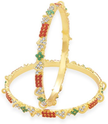 Sukkhi Alloy Gold-plated Bangle Set(Pack of 2) at flipkart