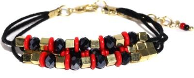 Anouk Metal Beads Enamel Bracelet at flipkart