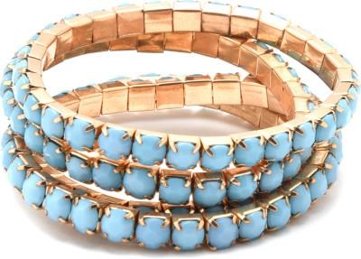 Diana Korr Alloy Beads Bracelet Set(Pack of 4) at flipkart