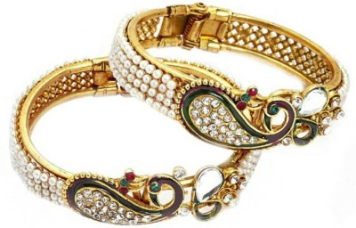 Kanishk Creations Alloy Bangle Set(Pack of 2) at flipkart