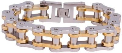 Avn Jewellers Brass Gold-plated Bracelet at flipkart
