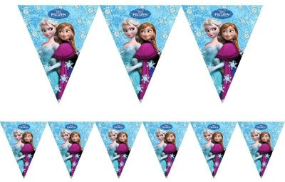 PARTY PROPZ Decoration Stuff Pennant Banner(8 ft, Pack of 1)