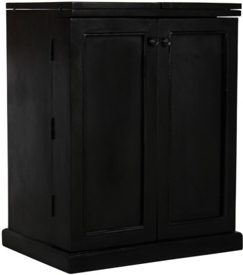 The Attic Solid Wood Bar Cabinet(Finish Color - Espresso)
