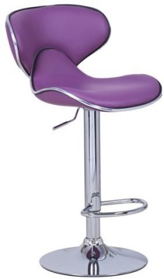 Exclusive Furniture Metal Bar Stool(Finish Color - Purple)