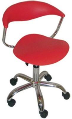 Mavi Plastic Bar Chair(Finish Color - Red)