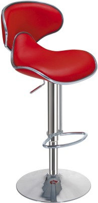 Exclusive Furniture Metal Bar Stool(Finish Color - Red)