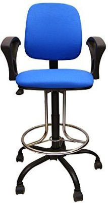 Mavi Fabric Bar Chair(Finish Color - Blue)