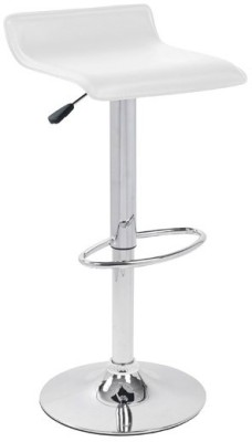 Exclusive Furniture Metal Bar Stool(Finish Color - White)