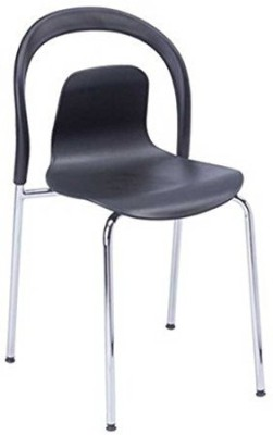 Mavi Plastic Bar Chair(Finish Color - Black)