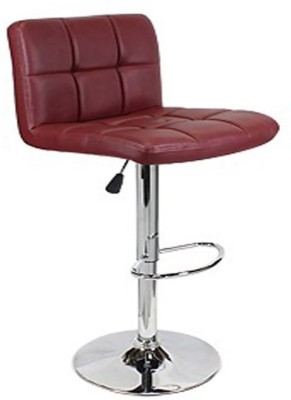 Exclusive Furniture Metal Bar Stool(Finish Color - Maroon)