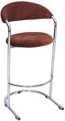 Mavi Fabric Bar Stool(Finish Color - Brown)