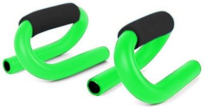 Sobo Green S-Shape Push-up Bar(Green, Black)