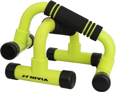 Nivia Dynamic Push-up Bar(Green, Black)  available at flipkart for Rs.399