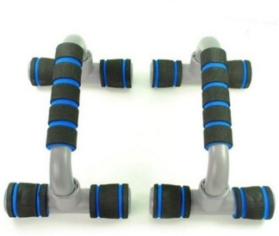 Divinext Plastic S-Shaped DI-116 Push-up Bar(Blue, Black, Grey) at flipkart