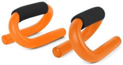 Sobo Orange S-Shape Push-up Bar(Orange, Black)