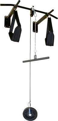 Off on home gym dynamics pulley pod folding gym fitness kit