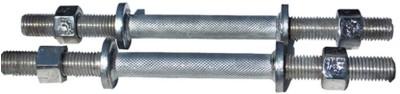 Three Diamond Rod 14inch Steel Weight Lifting Bar(Silver)