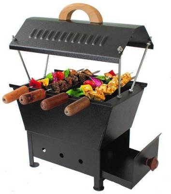 Javvad-Enterprises-Barbeque-Charcoal-Grill-(4-skewers)
