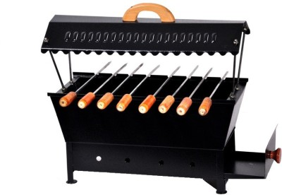 Asian-Arts-Metallic-Charcoal-Grill