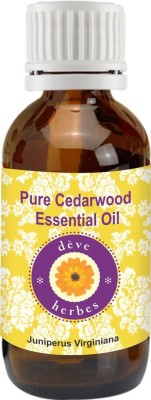 DVe Herbes Pure Cedarwood Essential Oil (15ml)-Juniperus Virginiana(15 ml)