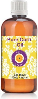 Deve Herbes Pure Corn Oil 100ml (Zea Mays)(100 ml)  available at flipkart for Rs.192