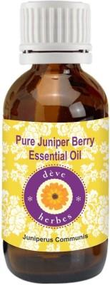 DVe Herbes Pure Juniper Berry Essential Oil (15ml)-Juniperus Communis(15 ml)