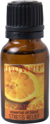 Soulflower Stress Relief Essential Oil(15 ml)