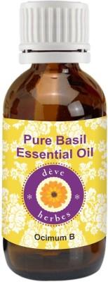 DVe Herbes Pure Basil Essential Oil - Ocimum Basilicum - 30ml(30 ml)