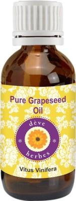 DVe Herbes Pure Grapeseed Oil - Vitus Vinifera - 30ml(30 ml)