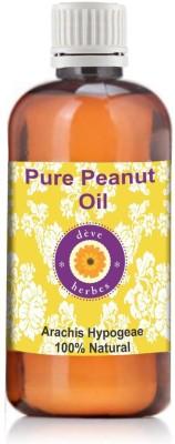 Deve Herbes Pure Peanut Oil 100ml (Arachis Hypogeae)(100 ml)  available at flipkart for Rs.212