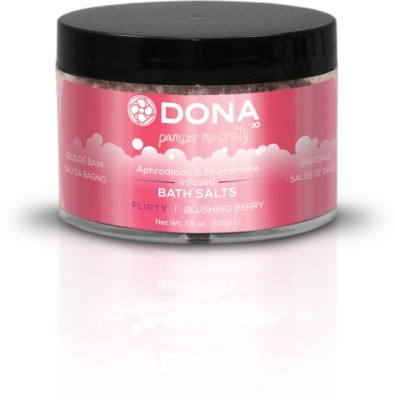 Dona Bath Salt Flirty Aroma, Blushing Berry(215 g)