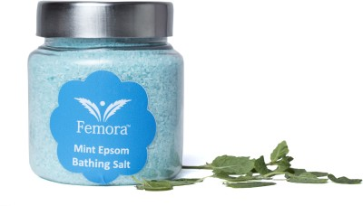 Femora Natural Mint Flavored Bathing Epsom Salt - 500 gms(500 g)
