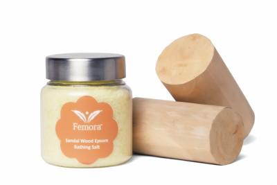 Femora Natural Sandal Wood Flavored Bathing Epsom Salt - 500 gms(500 g)