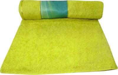 Bombay Dyeing Cotton Bath Towel(Yellow)
