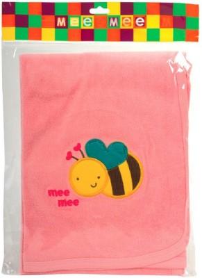 Meemee Cotton Baby Towel(Pack of 4, Pink)