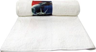 Bombay Dyeing Cotton Bath Towel(White)