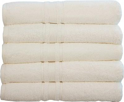 Rakshan Cotton 650 GSM Bath Towel Set(Pack of 5, Multicolor) at flipkart