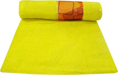 Bombay Dyeing Cotton Bath Towel(Yellow)