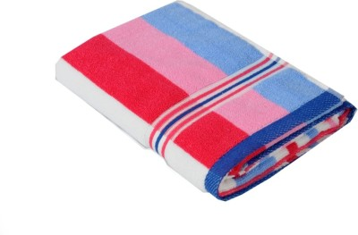 wellwet Cotton Bath Towel(Red, Pink)