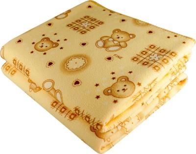 Stylefolio Microfiber Baby Towel(Pack of 2, Yellow)