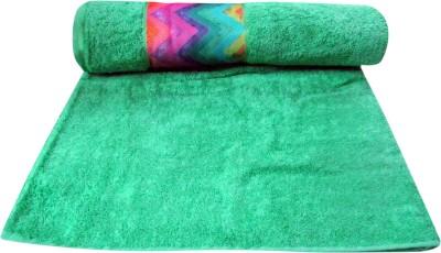 Bombay Dyeing Cotton Bath Towel(Green)