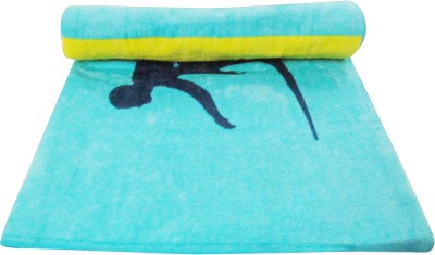 Bombay Dyeing Cotton Bath Towel(Blue)